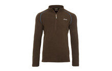 Sherpa Namche  sweat Homme Zip marron/bleu